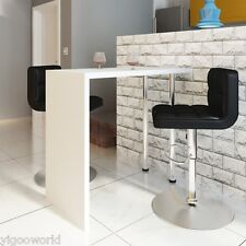 Modern Kitchen Bar High Dining Table Breakfast Lunch Stand Serving Coffee Dinner