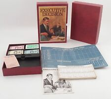 MIB Unplayed 1971 3M Bookshelf Game - Executive Decision Big Business Management