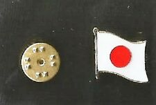 Japan - Pin Badge - International - Japanese Flag - Hat Pin - Rugby