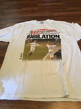 VTG 1998 Mark McGuire St. Louis Cardinals Jubilation 62 Home Runs Shirt Baseball