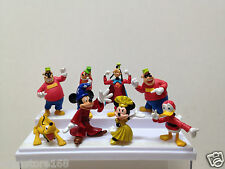 """Lot of 8pcs Disney Mickey Mouse & Friends Clubhouse 2.5"""" PVC Figure"""