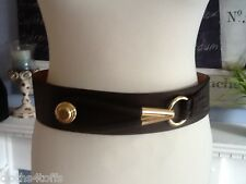 NEW ESCADA LEATHER BELT SIZE MED
