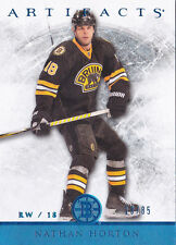 12-13 Artifacts Nathan Horton /85 Hobby Blue Bruins 2012