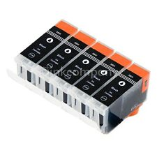 5 Tinte Black XL PGI-5 für CANON IP3300 IP3500 IP4200X IP4300 MX850 IP4500X