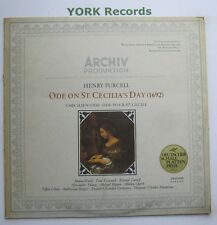 2533 042 - PURCELL - Ode On St Cecilia's Day WOOLF / ESSWOOD - Ex Con LP Record