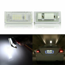 2X Error Free 18 3528 SMD LED LICENSE PLATE LIGHT For BMW E46 4D Sedan 5D Wagon