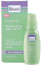 Bioré BIORE RESTORE Skin Boosting Night Serum ~ 1.4 FL Oz  (41 mL), NIB
