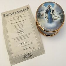 Ardleigh-Elliot Visions Of Our Lady Of Medjugorje Music Box 2nd Issue With COA