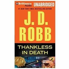 THANKLESS IN DEATH-#37 by J. D. Robb (2013, MP3 CD, Unabridged)