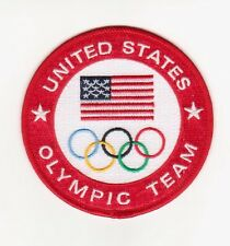 2016 RIO OLYMPIC GAMES BRAZIL TEAM USA LOGO PATCH