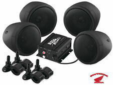 BOSS AUDIO ALL TERRAIN 4 SPEAKER & 1000W AMP BLUETOOTH OFFROAD ATV MOTORCYCLE