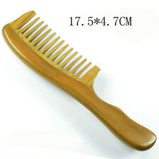 Green Sandal Wood Comb Wide Toothed Comb Useful For your Health Massage HairComb