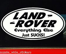 LAND ROVER ELSE 4x4 discovery series Funny Stickers 200mm