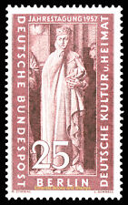 EBS West Berlin 1957 Uta, Naumburg Cathedral - Michel 173 MNH**