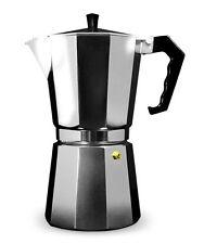 Grunwerg 9 Cup Cafe Ole Italian Style Aluminium Espresso Coffee Maker Cafetiere