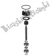 3714 - KIT REVISIONE POMPA ACQUA PIAGGIO 50 QUARTZ - ZIP SP