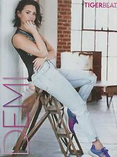 DEMI LOVATO - NATHAN SYKES - TIGER BEAT magazine CLIPPING - PINUP - MINI POSTER