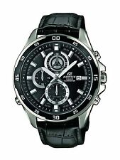 Casio Men's Watch Edifice-Analogue Chronograph Quartz Leather EFR 547L - 1AVUEF