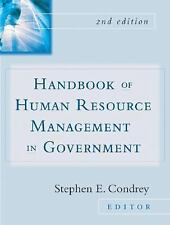 Handbook of Human Resources Management in Government