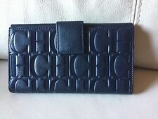 DISCOUNT Carolina Herrera DARK NAVY  wallet, originual,  New whith tags