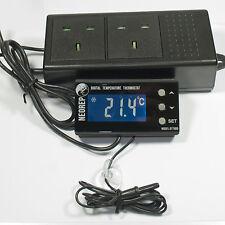 Digital Vivarium Reptile Thermostat For Heat Mats and Ceramic Heaters