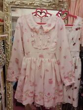 **US SELLER**MY MELODY CUTE RIBBON BOWTIE LIZ LISA DRESS SHIBUYA JAPAN