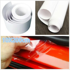 2m Car Door/Sill Edge Paint Anti Scratch Conservation Vinyl Film Wrap Universal