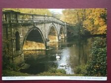 POSTCARD SUSSEX CLUMBER - THE OLD BRIDGE