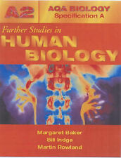 ABSA A2 Further Studies In Human Biology (AQA Biology Specification A) Rowland,