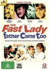 The Fast Lady / Father Came Too - Stanley Baxter / 2 DVD NEW