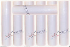 "(7) 20"" x 4.5"" Big Blue Whole House Water Filter Sediment 10 Micron Water Filter"