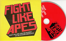 FIGHT LIKE APES And The Mystery Of The Golden Medallion UK 12-track promo CD