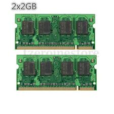 4GB 2x2GB DDR2 667MHZ PC2 5300 (SODIMM) 200-PIN Non-ECC MEMORY RAM FOR LAPTOP PC