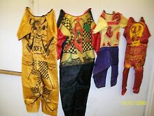 LOT OF 4 VINTAGE HALLOWEEN COSTUMES