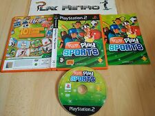PLAY STATION 2 PS2 EYETOY PLAY SPORTS COMPLETO PAL ESPAÑA