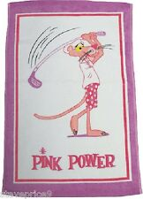 WINNING EDGE PINK PANTHER GOLF TOWEL. BNWT