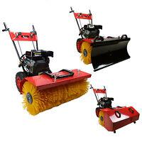 Kehrmaschine Benzin Schneefräse Schneeschieber Elektrostarter 6,5PS Schneeräumer