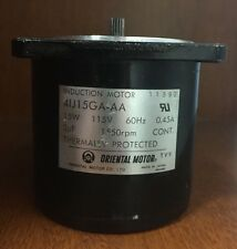 Oriental Motor Induction Motor #4IJ15GA-AA 115V