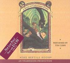 The Reptile Room  A Series of Unfortunate Events, Book 2  2003 by Sni Ex-library