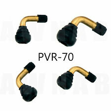 Tubeless Valves x 4 Motorcycles Scooters 90 Degree Right Angle Bent Bendy PVR70