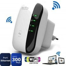 "WIFI Repeater Router  AP 2,4GHz WLAN 802.11n Verstärker Extender 300Mbps ""5 Hot"
