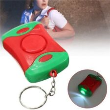 Anti-Attack Rape Safety Personal Security Panic Loud Alarm Emergency Siren w/LED