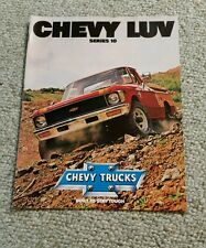 Original Vintage Chevy 1979 Chevrolet LUV Pickup Truck Advertising Sale Brochure
