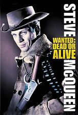 Wanted Dead or Alive Steve McQueen cult movie poster print 25
