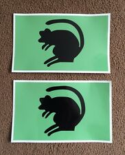 2X MILITARY ARMY LAND ROVER 4th Infantry Brigade  WOLF WIMIK DEFENDER DECALS
