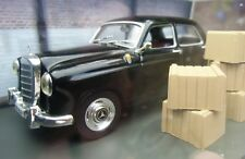 "007 JAMES BOND - Mercedes Benz 220 S Ponton ""Goldfinger"" 1:43 BOXED CAR MODEL"