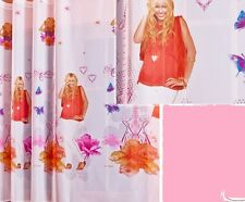 "White Net Voile Curtains Hannah Montana - SOLD BY THE METRE 59"" - 150cm drop"