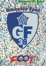 429 ECUSSON LOGO BADGE FRANCE GRENOBLE FOOT 38 STICKER FOOT 2005 PANINI