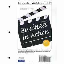 Business in Action, Student Value Edition by Courtland L. Bov�e and John V....