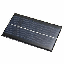 6V 1W Solar Panel Solar System Module DIY For Cell Phone Chargers Portable T1